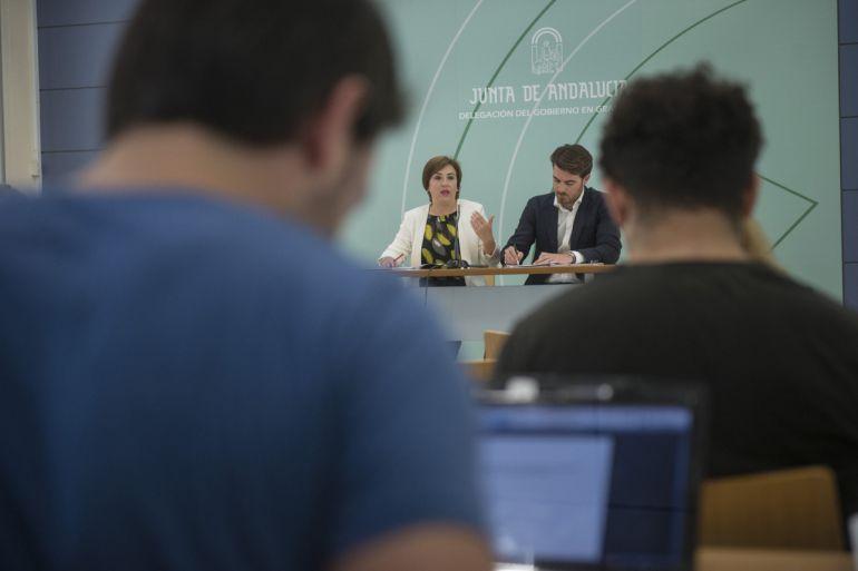 Rueda de prensa de presentación de la oferta cultural de la Junta en Granada