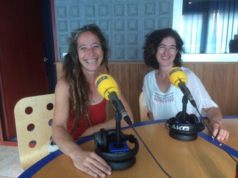 Sandra Vericat, de Can Rareta, y Carla Centelles, de Ibiza Family Magazine