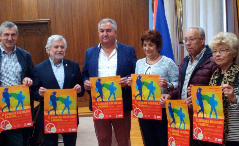 Presentación de la X Andaina Solidaria de Paderne de Allariz