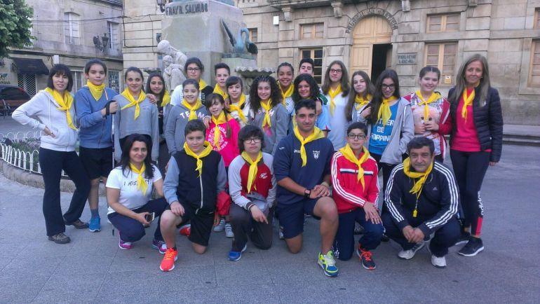 Los alumnos iniciaron recorrido en Tui.