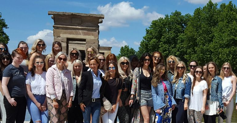 Madrid Fashion Tour pretende dar otra visión de la capital, para lucirse ante estudiantes de moda extranjeros
