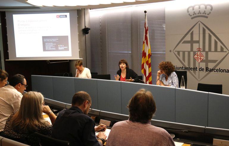 Imatge de la comissió de Drets Socials, Cultura i Esports en la que també es va deixar plantat al govern municipal de Barcelona