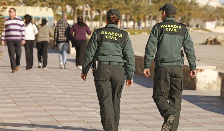 La Guardia Civil detiene a cuatro personas por la agresión a un agente medioambiental