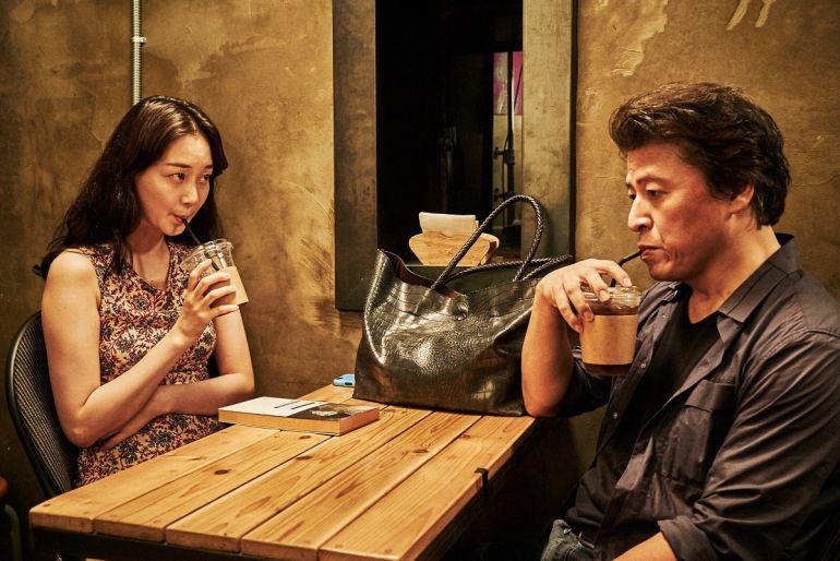 """Fotograma de """"Lo tuyo y tú"""", de Hong Sang-soo"""
