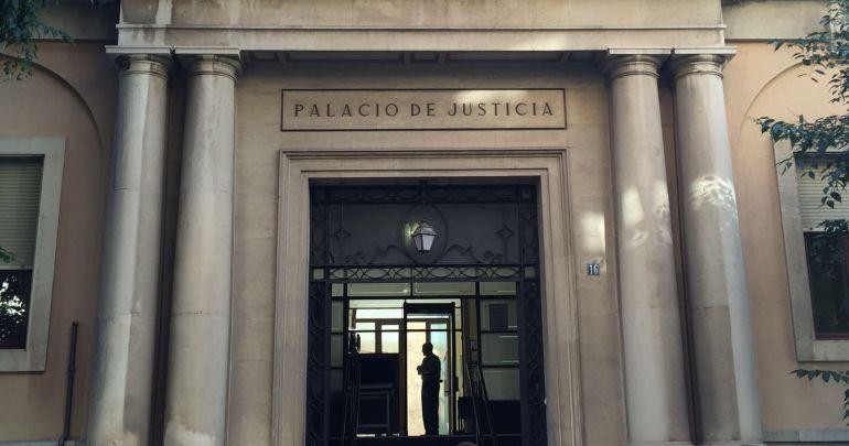 Fachada del Palacio de Justicia de Jaén.