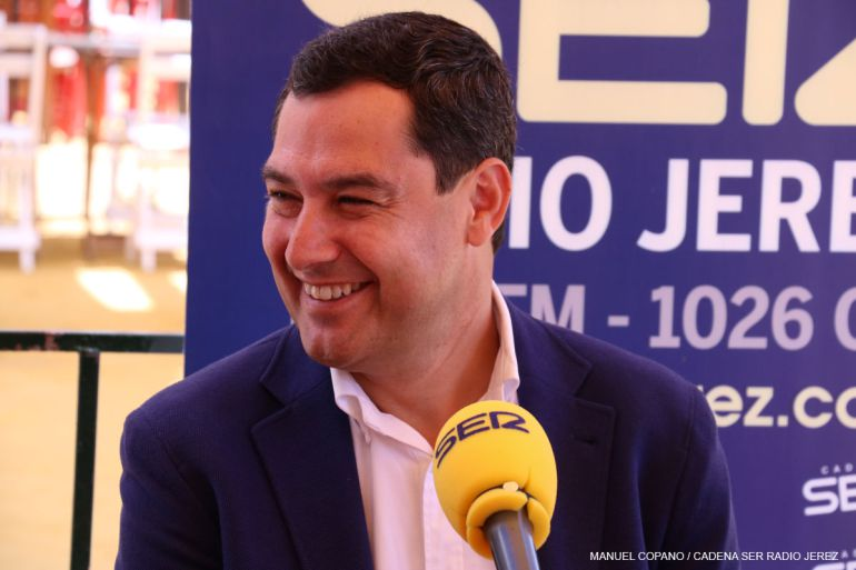 Imagen de Juanma Moreno, presidente del PP-A