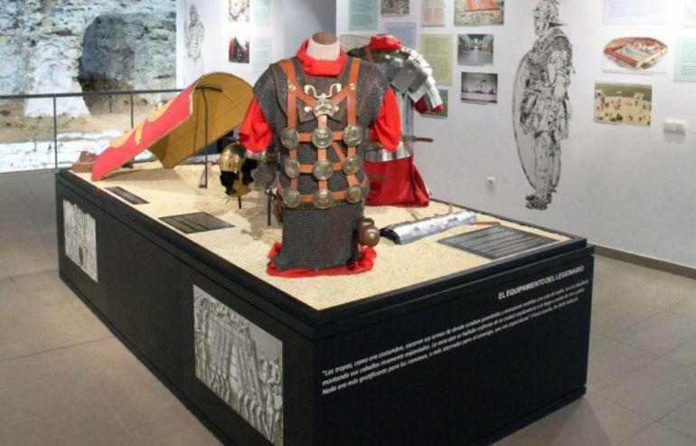 Imagen del centro de interpretación del León Romano