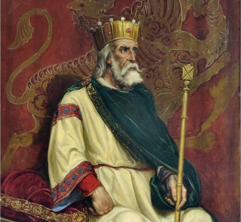 Retrato del rey Ordoño II en el Ayuntamiento de León