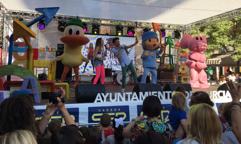 Conecta Kids junto a Pocoyó han sido los encargados de inaugurar Actúa 2017