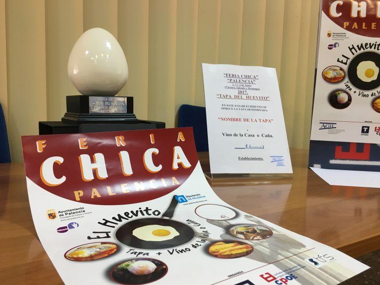 """Trofeo de cerámica para el ganador del III Concurso """"La Tapa del Huevito"""""""