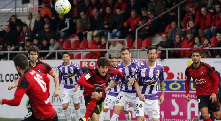 El Valladolid, a por su primer triunfo en Miranda