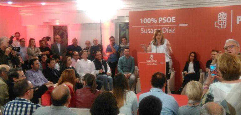"""Susana Díaz: """"El lunes comienza la remontada"""""""