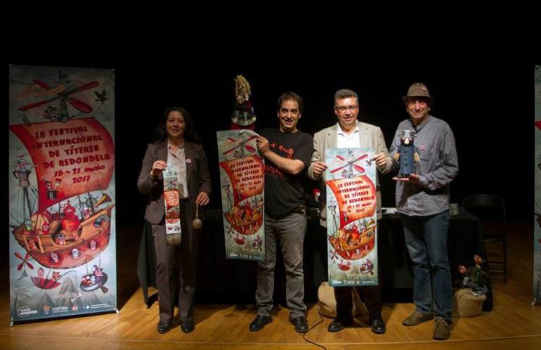 Presentación de la 18ª Edición del Festival de Títeres de Redondela