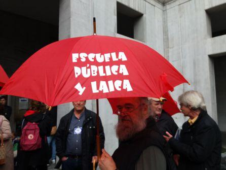 Calidad de la enseñanza: La educación sale a la calle en Asturias