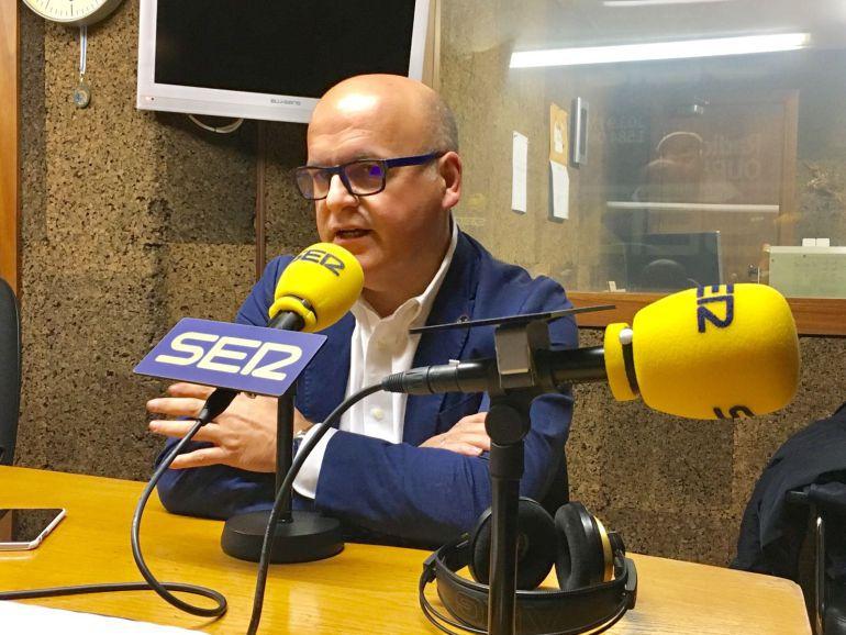 El presidente de la Diputación de Orense, Manuel Baltar en la Ser