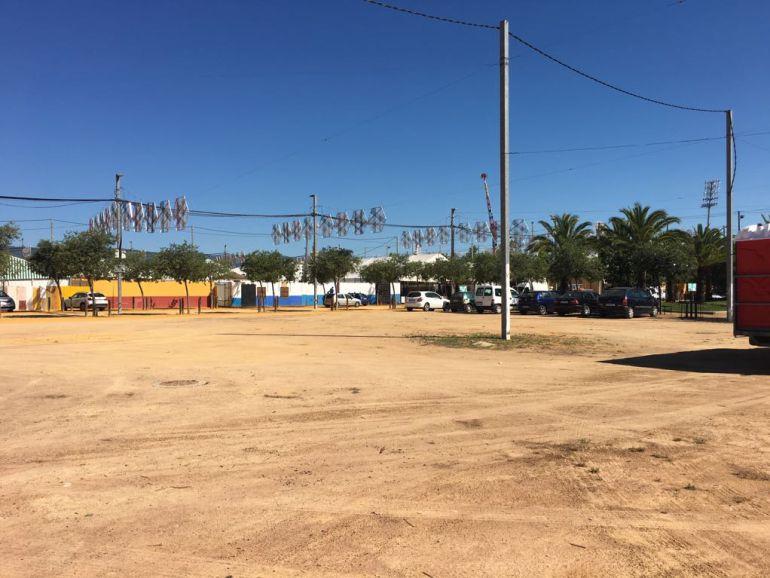 Uno de los espacios vacíos en el Arenal
