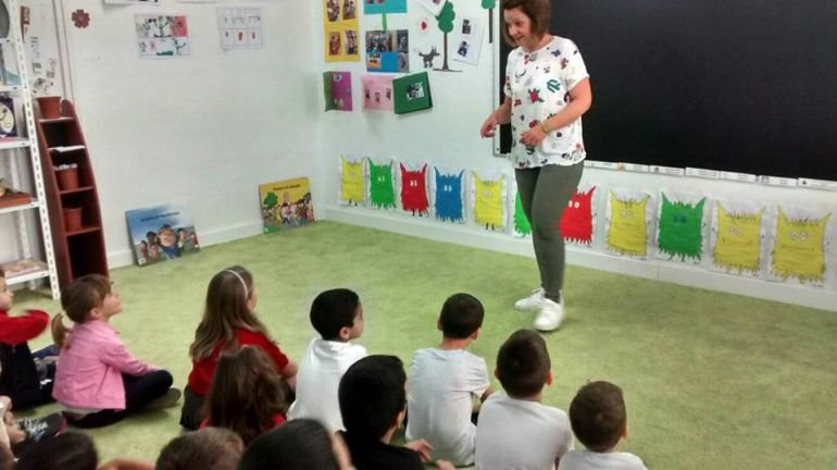 Actividades en la Biblioteca para niños de Infantil y Primaria