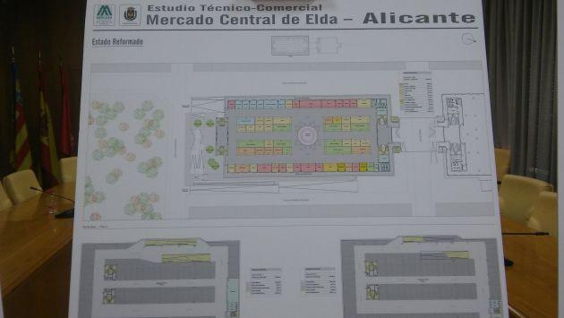 Estudio de la reforma propuesta por Mercasa para el MErcado Central de Elda