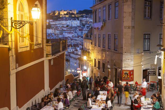 El Bairro Alto de Lisboa cuenta con una oferta gastronómica muy interesante