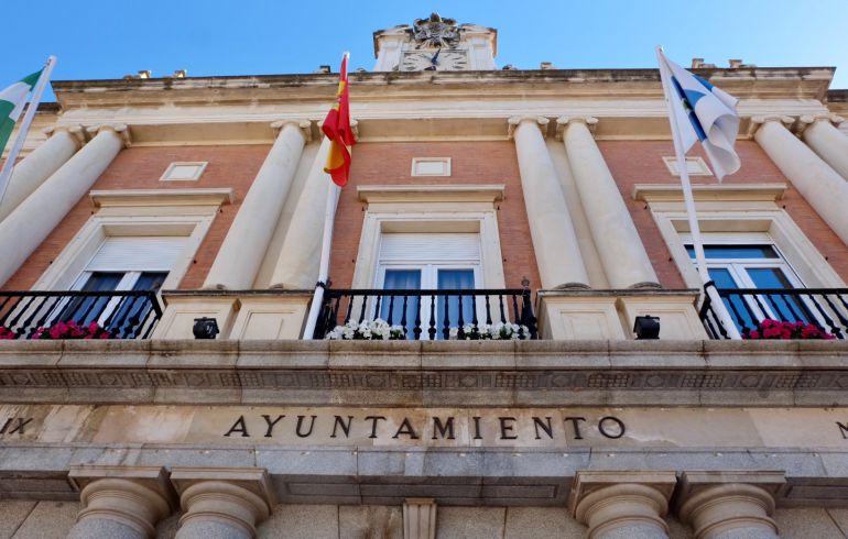 Fachada del Ayuntamiento de Huelva