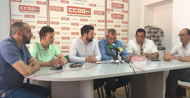 CCOO-Jaén se reúne con FCC en su sede