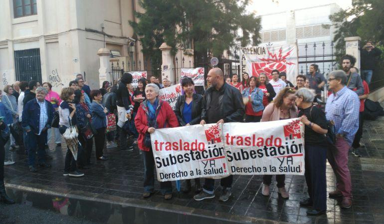 Vecinos de Patraix reclaman el traslado de la subestación de Patraix