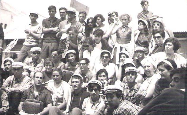 Maestros y maestras de la promoción de Magisterio de Cuenca de 1967.