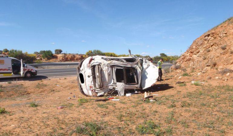 El número de fallecidos en carretera se ha reducido un 76,8%