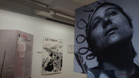 Detalle de la muestra 'Visiones. Mística y política en el País Vasco'