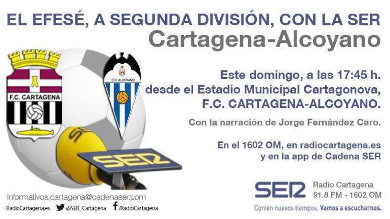 ¡Vive los play-off del Cartagena en la SER!: ¡Vive los play-off en la SER!
