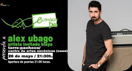 Alex Ubago llega a Torre Pacheco el viernes 26 en Escenario Dial