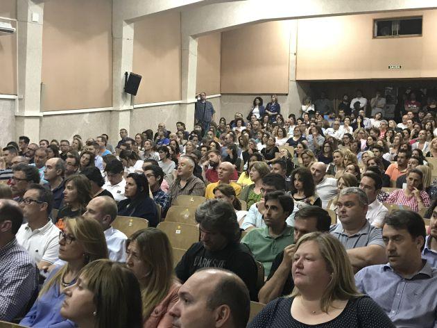 Asamblea de Padres celebrada ayer en el centro
