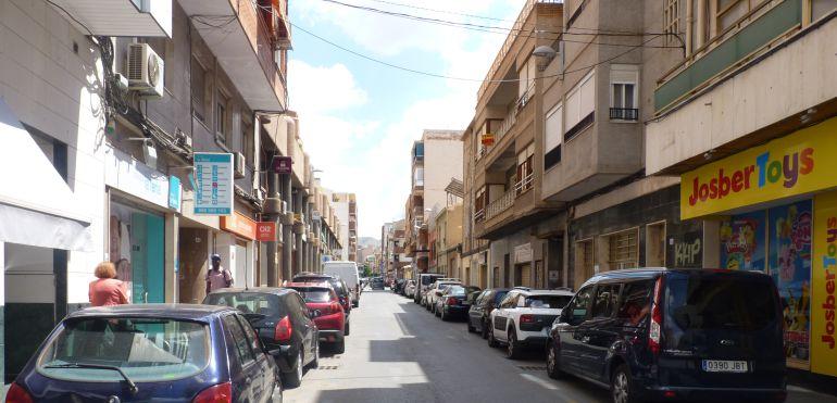 Calle Pablo Iglesias donde se ha producido el robo