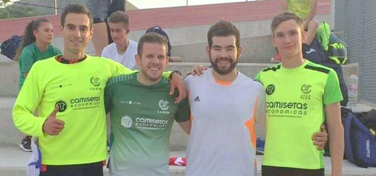 Atletas del club eldense en el Campeonato Provincial
