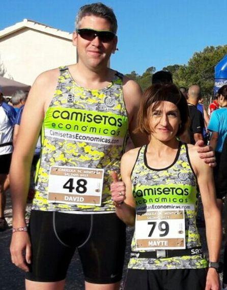 David y Mayte en Salinas