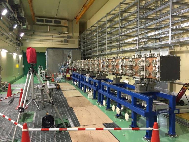 Instalación de IFMIF en un proyecto de investigación sobre fusión nuclear