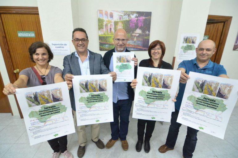 Presentación en Granada de la Coordinadora Andaluza por una Sanidad Pública Universidad y de Calidad