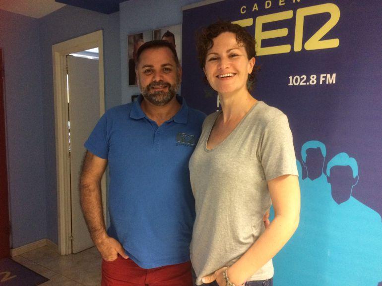 Joan Miquel Perpinyà y Laura Ferrer