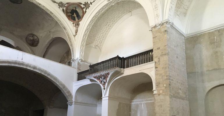 Los medios se reúnen en el Convento de Santo Domingo de Jaén.