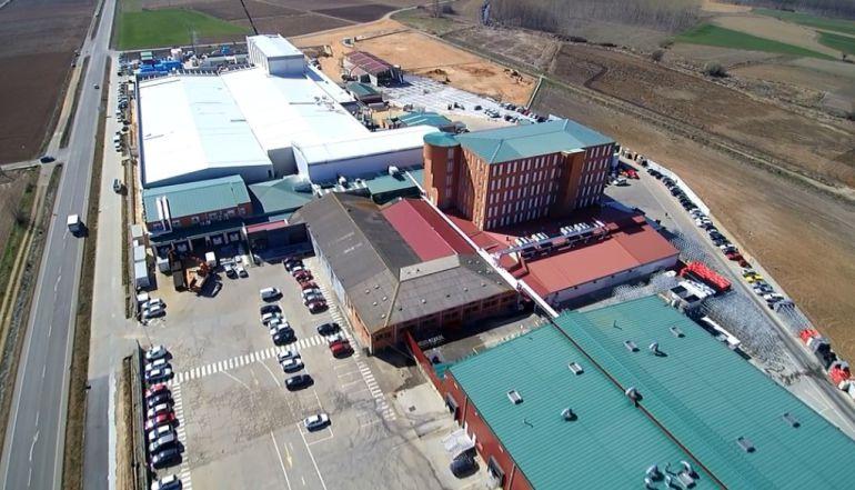 Imagen aérea de las nuevas instalaciones