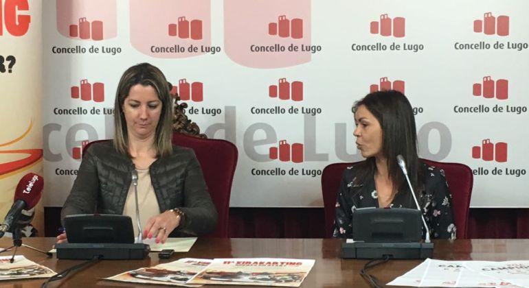 Un momento de la presentación de Xirakarting en Lugo