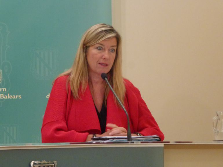 Patricia Gómez, consellera de Salud.
