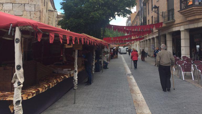 Mercado de Circo Medieval en la Plaza de San Pablo de Palencia