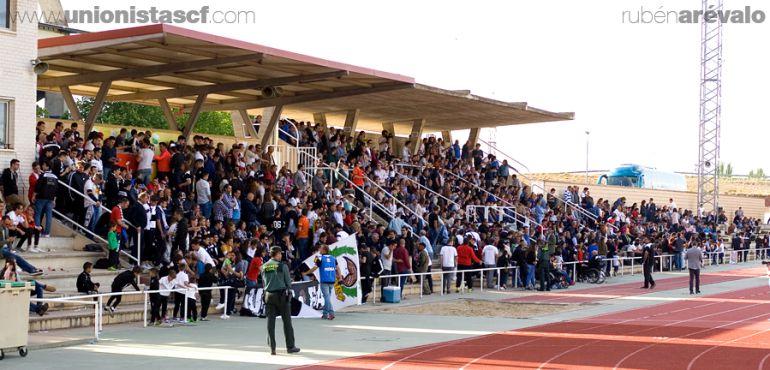 Imagen del club en el último partido ante la Segoviana.