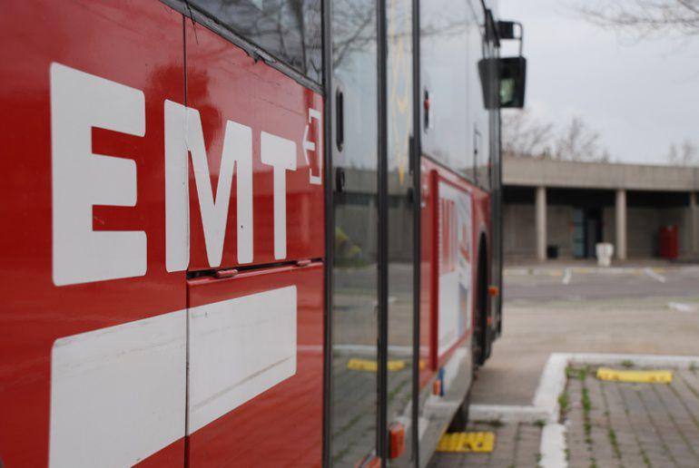 Fallece un conductor de la EMT en Valencia mientras estaba de servicio