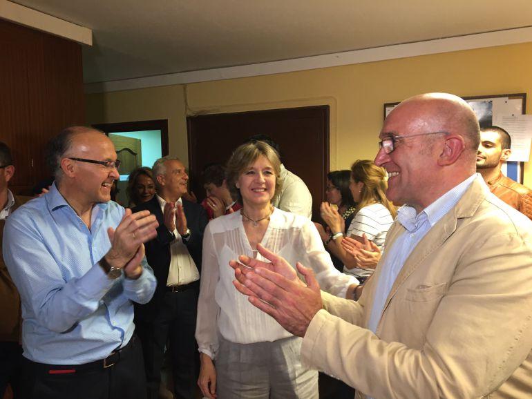 La Ministra de Agricultura, Isabel García Tejerina felicitó personalmente a Jesús Julio Carnero