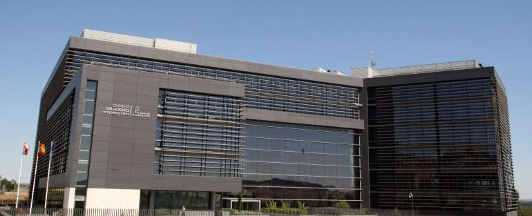 Edificio de la 'Perla Negra', que investiga la justicia por posibles sobrecostes