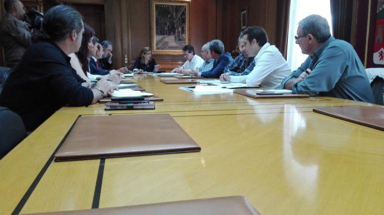 Reunión entre los sindicatos y la Diputación Provincial de Zamora