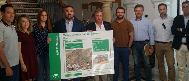 Presentación del proyecto EDAR de Arjonilla