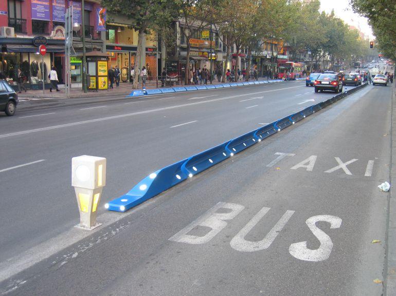 Calle Bravo Murillo en Madrid